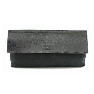 Authentic Gucci Signature Web Belt Bag/Waist Pouch